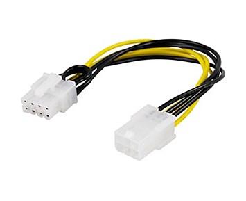 Deltaco Grafikkort 6-pin till 8-pin