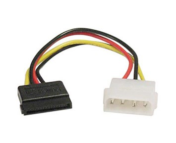 Deltaco Power Cable Sata Straight
