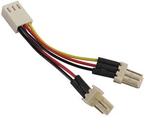 Deltaco SSI-36 – Y-kabel 3-pins