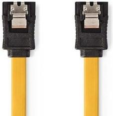 Nedis SATA 6 Gb / s Kabel 0,5 m Gul