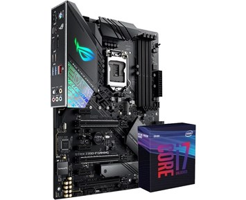 ROG STRIX Z390-F GAMING + Core i7-9700K 3,6GHz