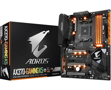 Aorus by Gigabyte GA-AX370-Gaming K5