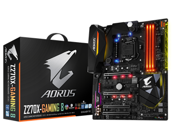 Aorus by Gigabyte GA-Z270X-Gaming 8