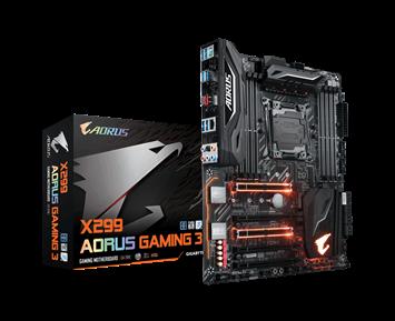 Gigabyte X299 Aorus Gaming 3 (rev 1.0)