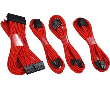 Phanteks Extension Cable Combo RED