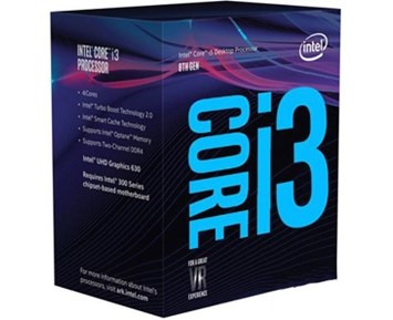 Intel Core I3-8300 3,70GHz