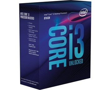 Intel Core i3-8350K 4.00GHz