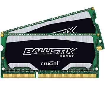 Ballistix Sport 8GB 1600MHz SODIMM