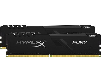 HyperX Fury Black DDR4 2666Mhz 2x8GB