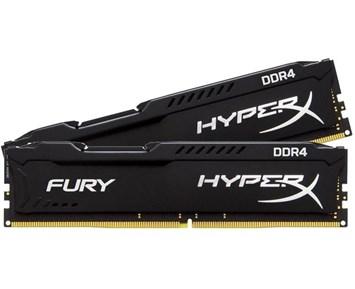 HyperX Fury Black DDR4 2x4GB 2400MHz