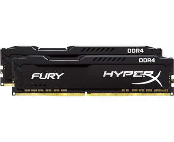 HyperX Fury Black DDR4 3200MHz 2x8GB