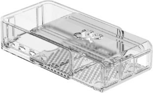 Raspberry Pi 4 model B Slide Case Clear