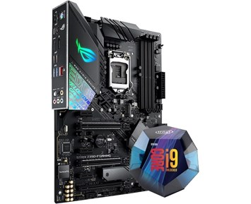ROG STRIX Z390-F GAMING + Core i9-9900K 3,6GHz