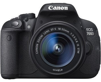 Canon EOS 700D 18-55IS STM NOR