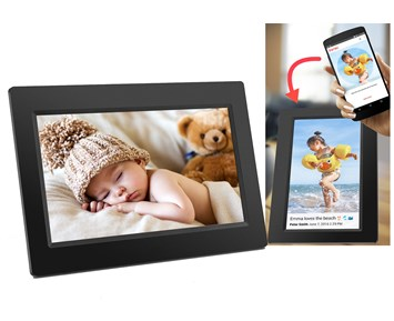 Denver Smart 7 digital photoframe Bl