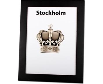 Estancia Stockholm Svart 15×20