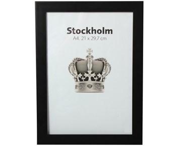 Estancia Stockholm Svart 21×297 A4