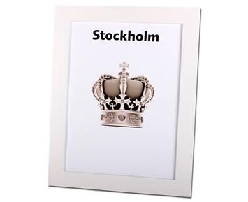 Estancia Stockholm Vit 18×24