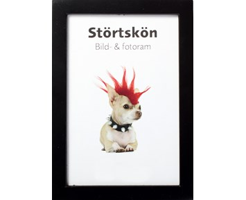 Estancia Störtskön Svart 13×18