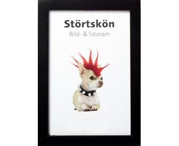 Estancia Störtskön Svart 15×20