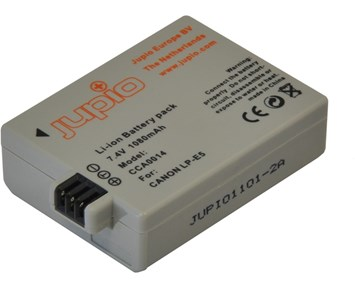 Jupio LP-E5 NB-E5 1080 mAh