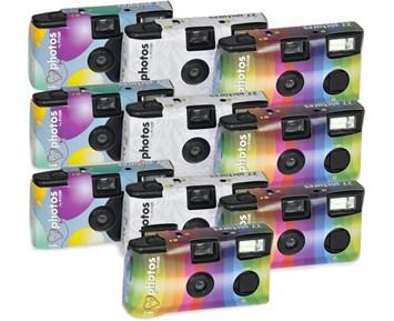 Focus Engångskamera 10-pack