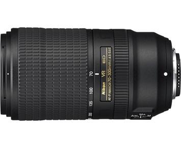 Nikon AF-P NIKKOR 70-300 f/45-56E ED VR