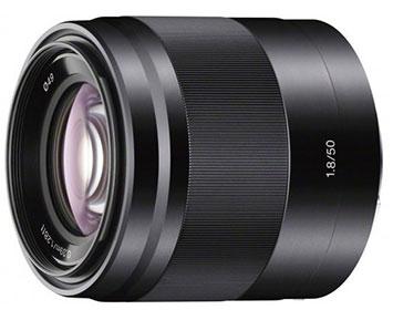 Sony NEX 50MM F18 OSS Black