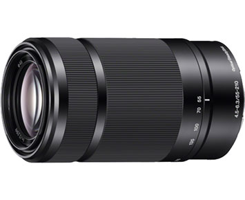 Sony NEX 55-210MM F45-63 OSS Blac