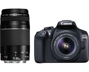 Canon EOS 1300D 18-55+75-300
