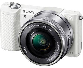 Sony A5000 16-50 White