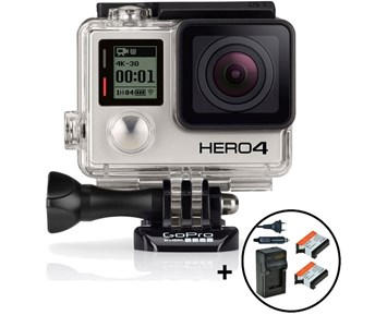 GoPro Hero 4 Black edt+battery pack