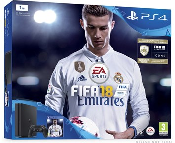 Sony PlayStation 4 Slim 1TB FIFA 18