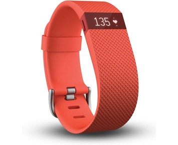 Fitbit Charge HR Tangerine Small