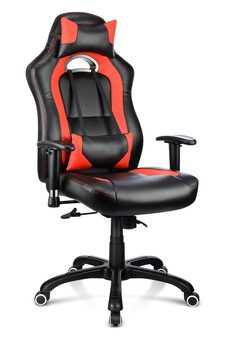 Awesome Gamingstol I Frack Rod Svart Design Machost Co Dining Chair Design Ideas Machostcouk