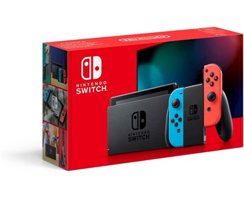 Nintendo Switch Neon Red/Neon Blue 2019