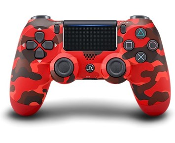 Sony PS4 DualShock 4 v2 – Red Camouflage