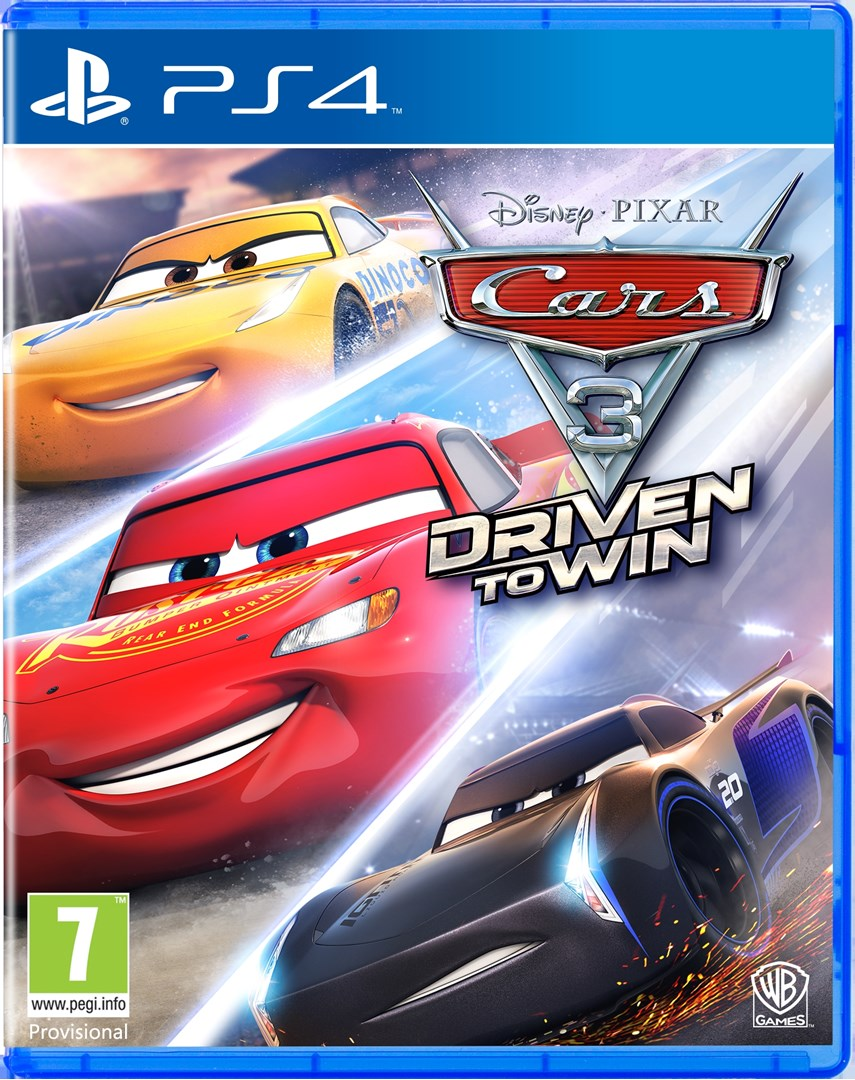 cars 3 driven to win spel