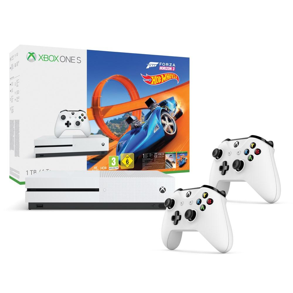 Xbox One S Spel Och Laddningssats
