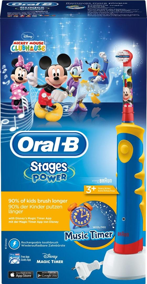 Oral-B D10 Kids - Eltandborste med musiktimer! 2db5f39cbf298