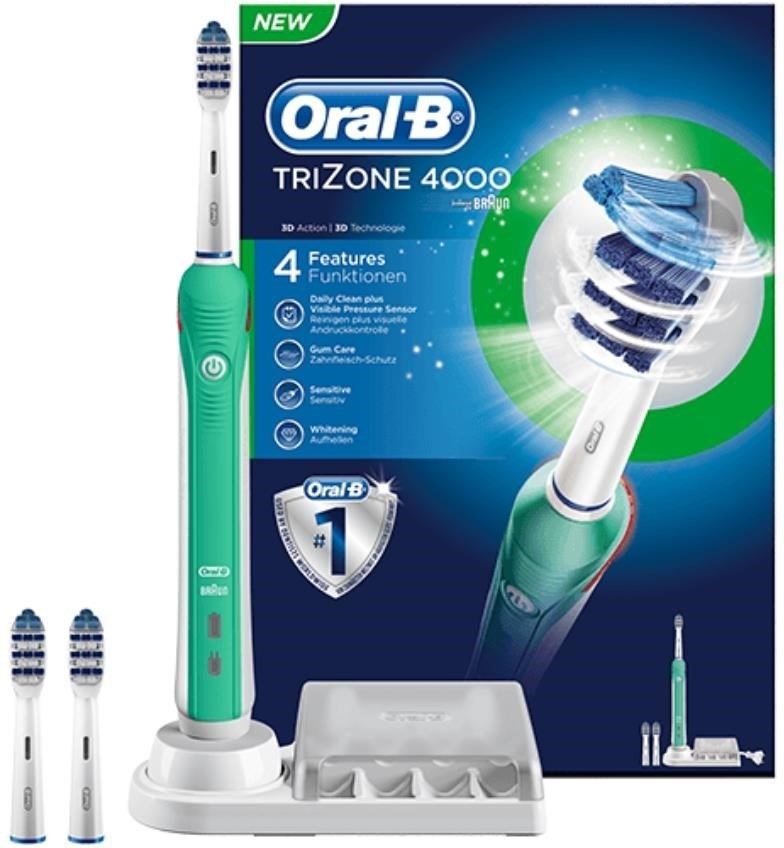 Oral-B Pro Trizone 4000 - Eltandborste för friskare tandkött och mindre  plack b1e6cbb0ae6a0