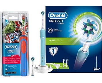 Oral-B PRO770 + Kids Avengers - Eltandborste för stor och liten 3a7e8abdc0ace