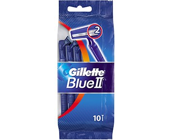 Gillette Blue II Fixed 10p
