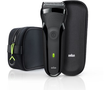 Braun Shaver 300s + pouch + bag