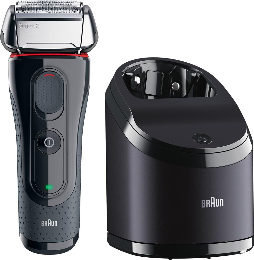 Braun Shaver Series 5 5050cc+CCR2 - Rakapparat med rengöringsstation + 2  rengöringskassetter 814b14a15cdbe