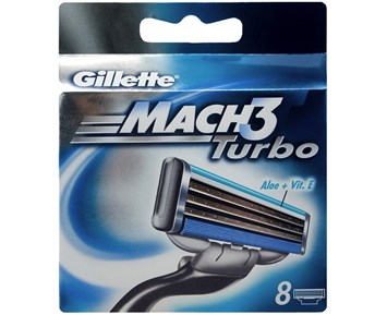 Gillette Mach3 Turbo 8-Pack