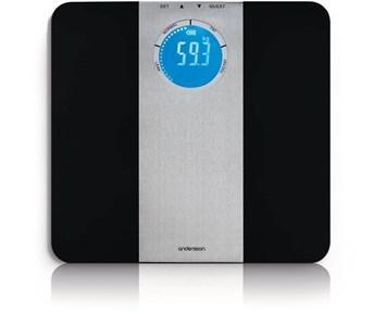 Andersson BYS 2.2 Black - Personvåg med BMI-uträkning och ...