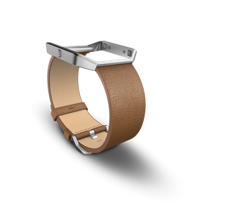 Fitbit Blaze Band Leather Camel Large