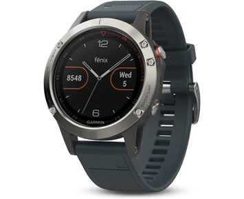 Garmin fenix® 5 47mm Silver/Blue