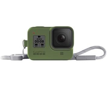 GoPro Sleeve + Lanyard (HERO8 Green)
